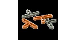 Крестики Т-образные 10 мм. для клинкерной плитки 500 шт./уп. фото