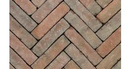 Клинкерная тротуарная брусчатка ручной формовки Penter Novoton tumbled, 200х50х85 мм фото