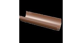 Желоб ТехноНИКОЛЬ (Verat) коричневый, D 125 мм, L 3 м фото