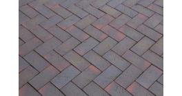 Брусчатка тротуарная клинкерная Lode LHL Etna шероховатая, 200*100*52 мм фото
