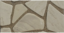 Песчаник серо-бурый галтованный, 50-60 мм фото