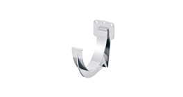 Кронштейн желоба ТехноНИКОЛЬ (Verat) белый, D 125 мм фото