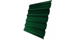 Профнастил фигурный Гранд Лайн (Grand Line) GL-20R 0,35, PE RAL 6005 зеленый мох фото
