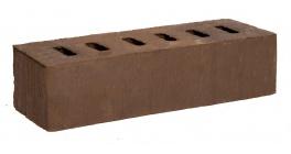 Кирпич клинкерный облицовочный пустотелый Kerma Premium Klinker Коричневый риф 0.5NF 250×60×65 фото