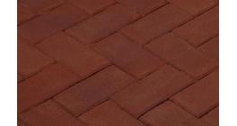 Клинкерная тротуарная брусчатка ручной формовки Penter Paviona 200х100х80 мм фото