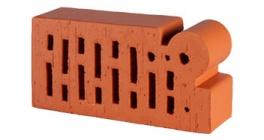 Кирпич керамический облицовочный фигурный пустотелый Lode Janka F18 гладкий 250*120*65 мм фото