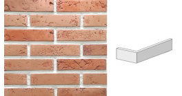 Угловой искусственный камень Redstone Light brick LB-61/U, 202*96*49 мм фото