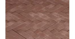 Клинкерная тротуарная брусчатка ручной формовки Penter Dione onbezand tumbled, 200х50х65 мм фото