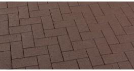 Тротуарная клинкерная брусчатка Feldhaus Klinker P502KDF umbra plano, 200*100*52 мм фото