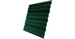 Профнастил фигурный Гранд Лайн (Grand Line) GL-10R 0,35, PE RAL 6005 зеленый мох фото