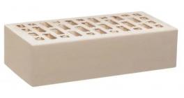Кирпич керамический облицовочный пустотелый Воротынский Белый Жемчуг гладкий УС  250*120*65 мм фото