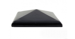 Колпак для забора ZG Clinker C38 темно-коричневый 380*380 фото