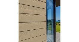 Фиброцементный сайдинг Cedral Click Wood C11 Золотой песок, 3600*190*12 мм фото