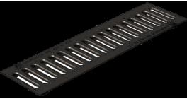 Решетка водоприемная Gidrolica Standart РВ-10.13,6.50 кл. С250 чугунная оцинкованная, 500*136*13 мм фото