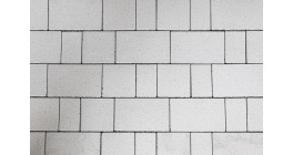 Тротуарная плитка ВЫБОР Старый город белый, Б.1.Фсм.6 фото