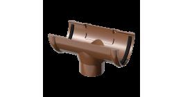 Воронка желоба ТехноНИКОЛЬ (Verat) коричневый, D 125 мм фото