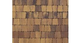 Тротуарная плитка ВЫБОР Антик Листопад гладкий Янтарь, Б.3.А.6 фото