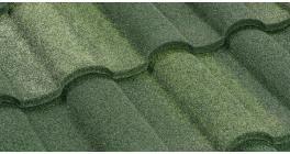 Композитная черепица LUXARD Roman малахит, 1330*426 мм фото