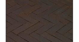 Клинкерная тротуарная брусчатка ручной формовки Penter Preston tumbled, 200х65х65 мм фото