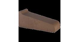 Керамический подоконник Lode Brunis коричневый, 290*115*88 мм фото