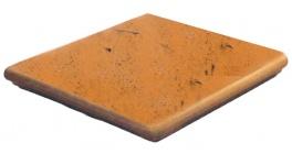 Клинкерная угловая ступень флорентинер ABC Antik Kupfer, 335*335*10 мм фото