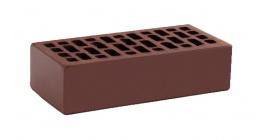 Кирпич керамический облицовочный пустотелый КС-керамик Темный шоколад гладкий 250*120*65 мм фото