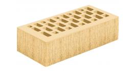 Кирпич керамический облицовочный пустотелый Голицынский КЗ Соломенный береста 250*120*65 мм фото