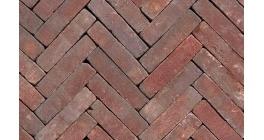 Клинкерная тротуарная брусчатка ручной формовки Penter Ruston tumbled, 200х50х85 мм фото