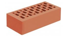 Кирпич керамический облицовочный пустотелый Голицынский КЗ Красный гладкий 250*120*65 мм фото