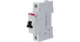 Автоматический выключатель ABB SH201L однополюсный тип С 4.5кА фото