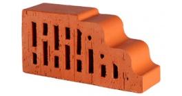 Кирпич керамический облицовочный фигурный пустотелый Lode Janka F25 гладкий 250*120*65 мм фото