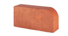 Кирпич керамический облицовочный радиусный полнотелый Lode Janka F15 гладкий 250*120*65 мм фото