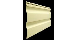 Виниловый сайдинг Docke Premium, Корабельный брус D4.5D, лимон, 3600*232*1 мм фото