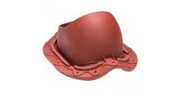Проходной элемент VILPE MUOTOKATE для металлической кровли, красный фото