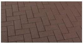 Брусчатка тротуарная клинкерная Feldhaus Klinker P502KF umbra plano, 200*100*45 мм фото