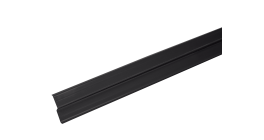 Прижимная планка (планка примыкания) LUXARD, черная фото
