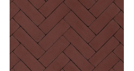 Клинкерная тротуарная брусчатка ручной формовки Penter Torino 200х65х85 мм фото
