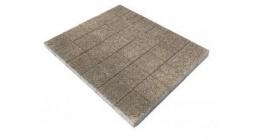 Тротуарная плитка BRAER Лувр Гранит Серый, 100*100*60 мм фото