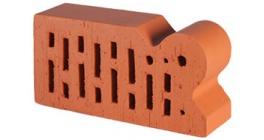 Кирпич керамический облицовочный радиусный пустотелый Lode Janka F20 гладкий 250*120*65 мм фото