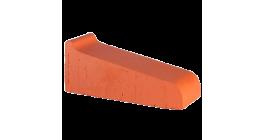 Керамический подоконник Lode Janka красный, 290*115*88 мм фото
