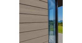 Фиброцементный сайдинг Cedral Click Wood C14 Белая глина, 3600*186*12 мм фото