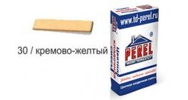 Цветной кладочный раствор PEREL NL 0130 кремово-желтый, 50 кг фото