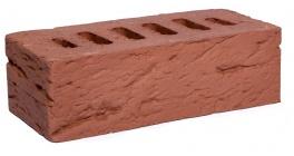 Кирпич клинкерный облицовочный пустотелый Kerma Premium Klinker Красный рустик WFD 215*102*65 мм фото