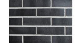 Фасадная плитка клинкерная DeKERAMIK DKK808 Обсидиан штрих, NF8, 240*71*9 мм фото