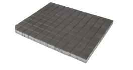 Тротуарная плитка BRAER Лувр Серый, 100*100*60 мм фото