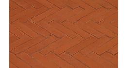 Клинкерная тротуарная брусчатка ручной формовки Penter Bruno tumbled, 200х50х85 мм фото
