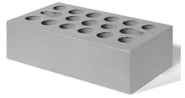 Кирпич керамический облицовочный пустотелый Керма Серебро гладкий 1NF 250*120*65 мм фото