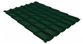 Металлочерепица Гранд Лайн (Grand Line) Classic PE 0.45 RAL 6005 зеленый мох фото