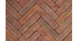 Клинкерная тротуарная брусчатка ручной формовки Penter Ravenna tumbled, 200х50х85 мм фото