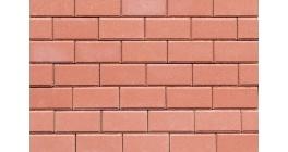 Тротуарная плитка Выбор Брусчатка 7П.8 красный, 200*100*80 мм фото